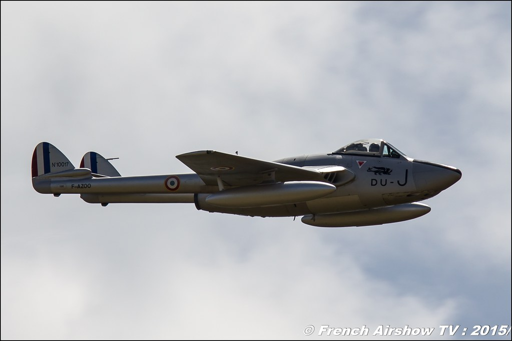 Patrouille de Vampire, Fly in LFBK 2015 - Fly in Saint Yan 2015, Meeting Aerien 2015