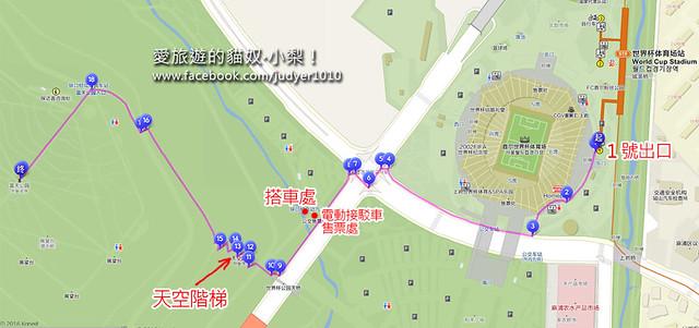 天空公園地圖