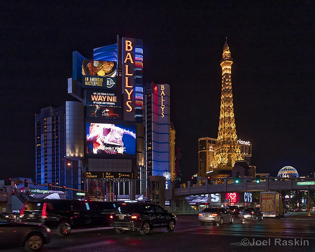 On the Strip at Night