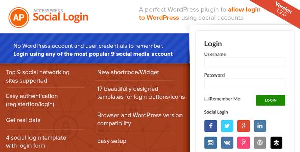 AccessPress Social Login v1.2.7