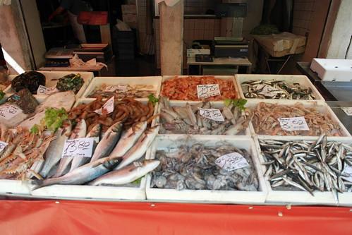 mercato di pesce