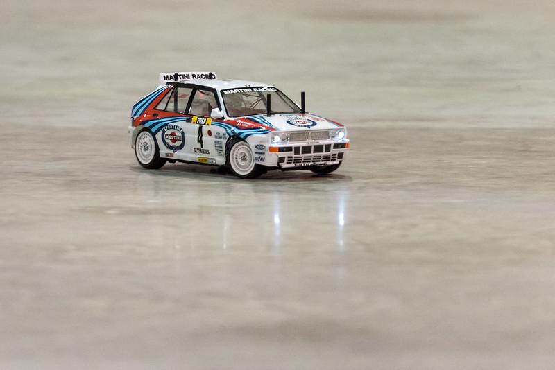 Arthur's Tamiya Lancia Delta Integrale.