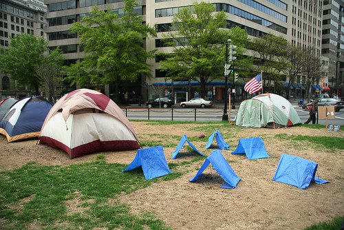 Tents, Occupy DC, March 31, 2012