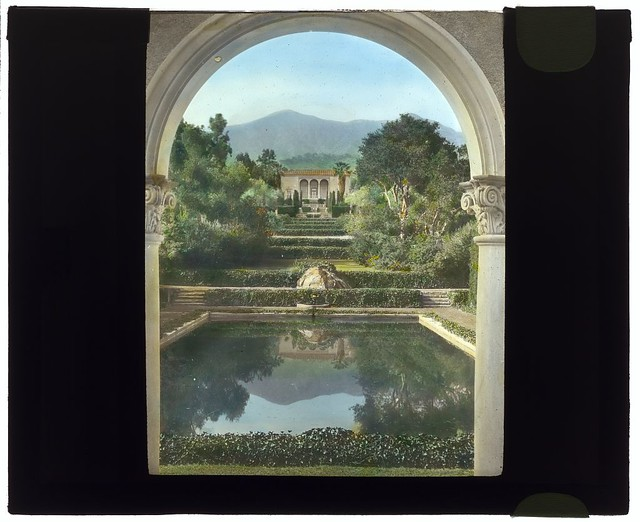 """""""Las Tejas,"""" Oakleigh Thorne house, 170 Picacho Road, Montecito, California. (LOC)"""