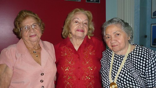 -Halaide Ramalheiro, Marita Gentil e Elza Nicolau