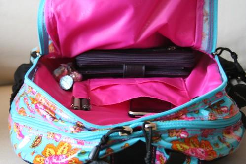 Cool Hadaki Laptop Backpack - Inside Secondary Area