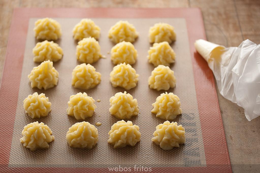 Patatas duquesa sin hornear