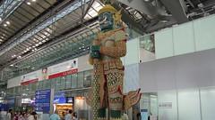 Departure Level, Suvarnabhumi Airport, Bangkok