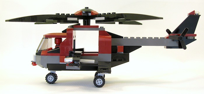 Review 6866 Wolverines Chopper Showdown Lego Licensed