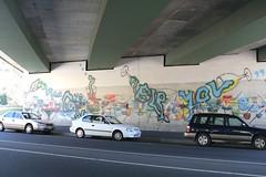 wine-styled graffiti