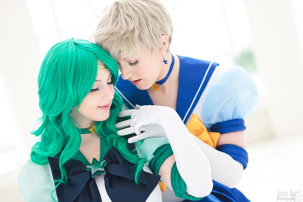 Sailor Neptune & Uranus @ Katsucon 2012 - Tess Cosplay & Windaria