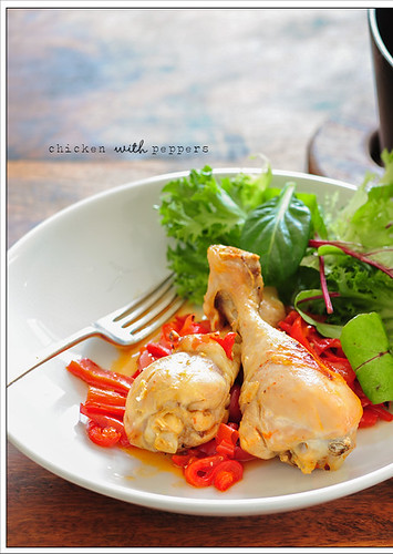 chicken with peppers2
