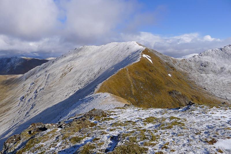 The south ridge to Sgurr Choinnich
