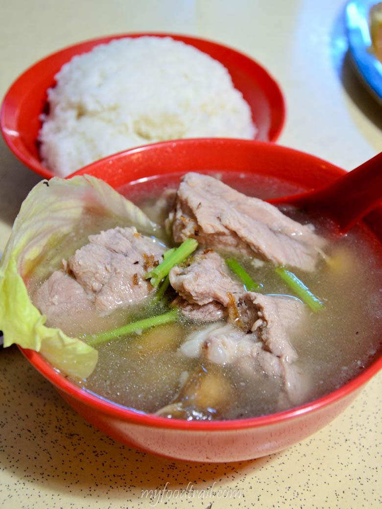 Singapore Hawker Food - Bak ku teh