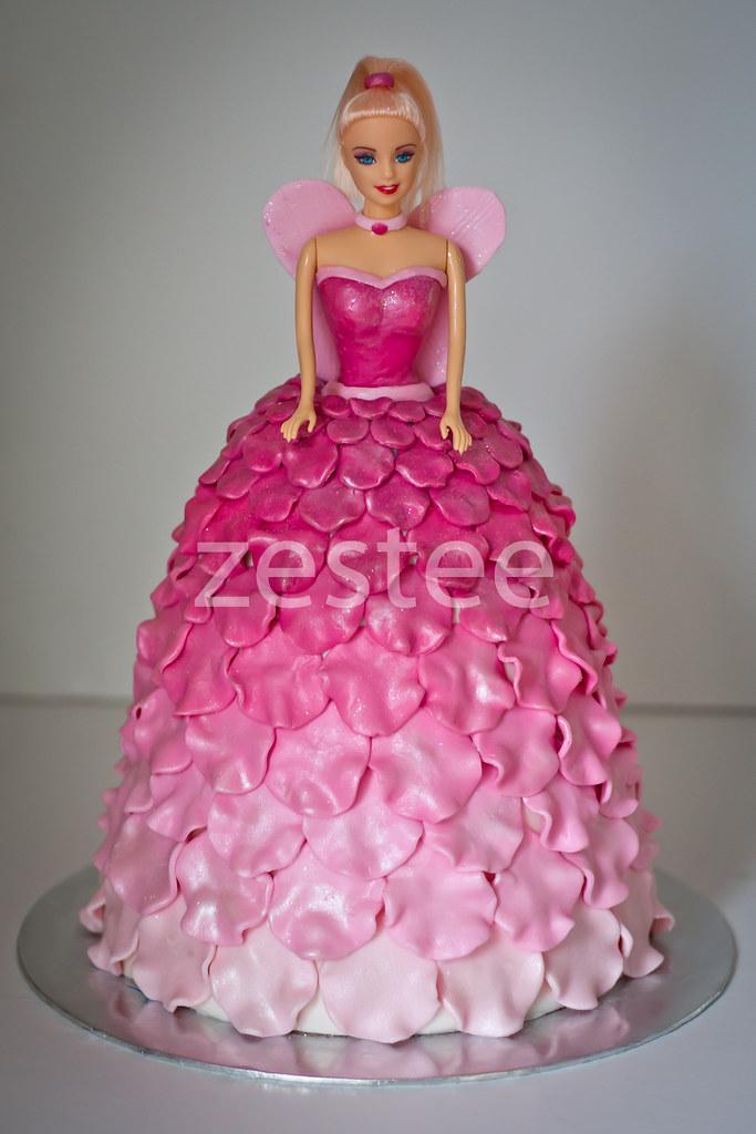 Fairy Princess Matilda Cake My Third Cake In The Past Week Flickr