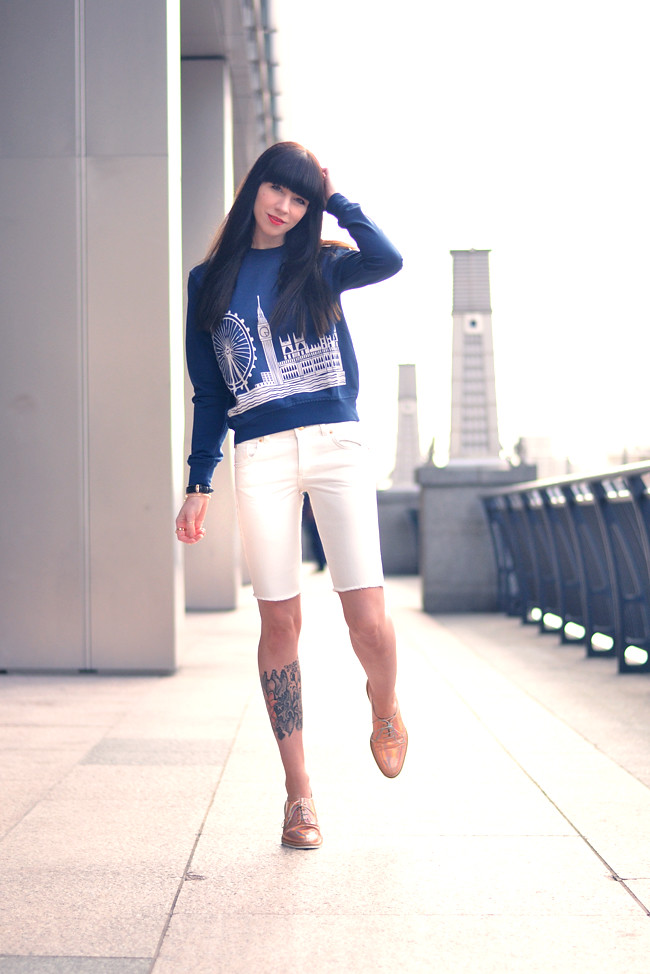 London sweater Miista shoes 9