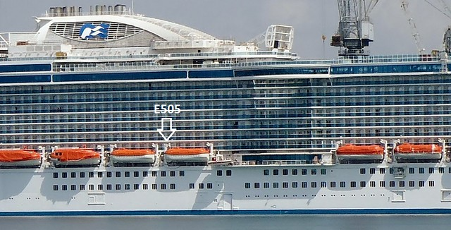 Obstructed balconies on Royal princess - Princess Cruises ...