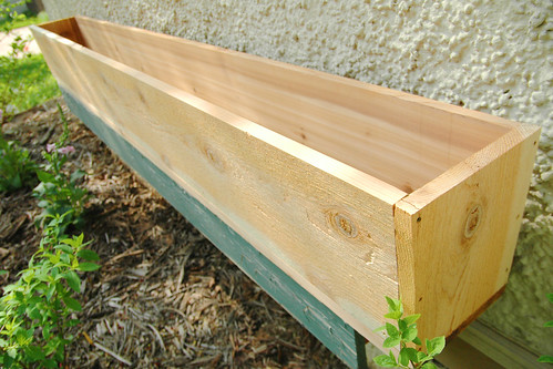 "i can *finally* scratch ""build cedar window boxes"" off the to-do list."