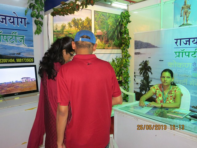 Rajyog Properteis Dapoli Chiplun Guhagar Pune - Visit Sakal Agrowon Green Home Expo, 25th and 26th May, 2013