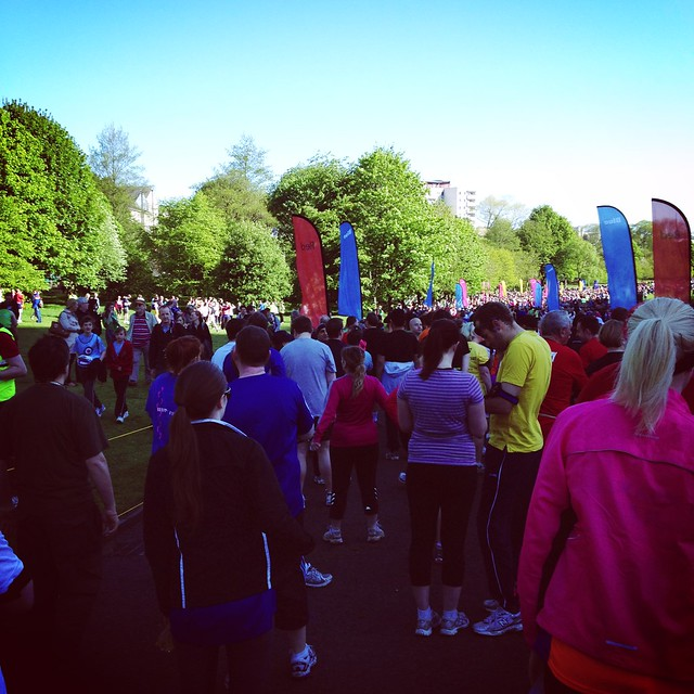 Getting ready for the EMF 10K!