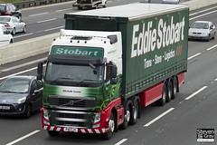 Volvo FH 6x2 Tractor - PX11 CJV - Michelle Louise - Eddie Stobart - M1 J10 Luton - Steven Gray - IMG_8946