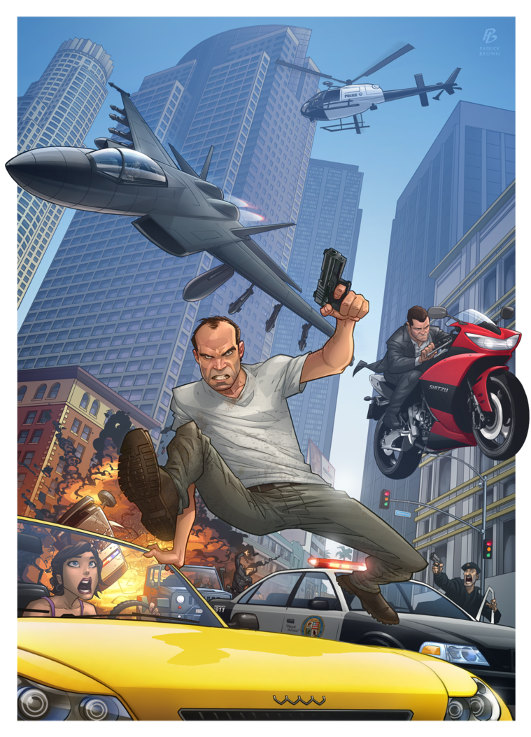 'Grand Theft Auto V' - Patrick Brown