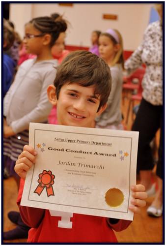 Good conduct award Jordan 010