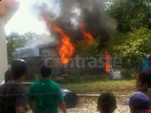 Explota casa en Casigua El Cubo