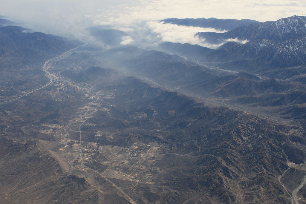 San Andreas Fault Wrightwood to Cajon Pass Dec 2011 #2