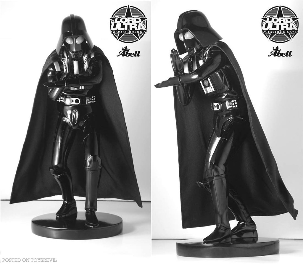 Ultraman/Darth Vader custom 9016035960_c0f6b692ba_b
