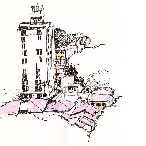 Caligrafia Urbana: ribanceira, casa, prédio #saopaulosp by Dalton de Luca
