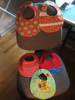 5 new bibs for Camille