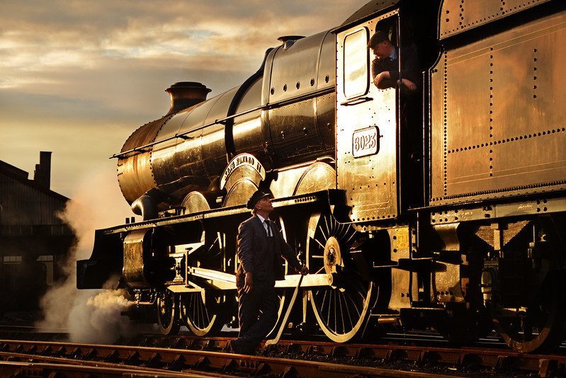 King Edward II Steam Train