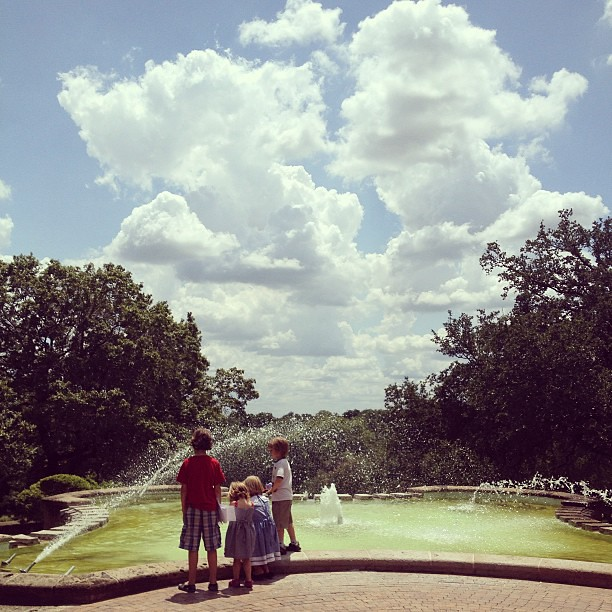 The kids and I had a wonderful afternoon out at the McNay's family day! #satx #latergram