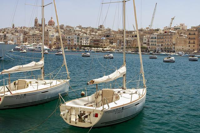 Marina in Vittoriosa - Malta