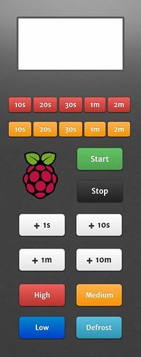 Raberry Pi Micro onde