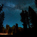 Milky Way Over Lassen Peak by melfoody