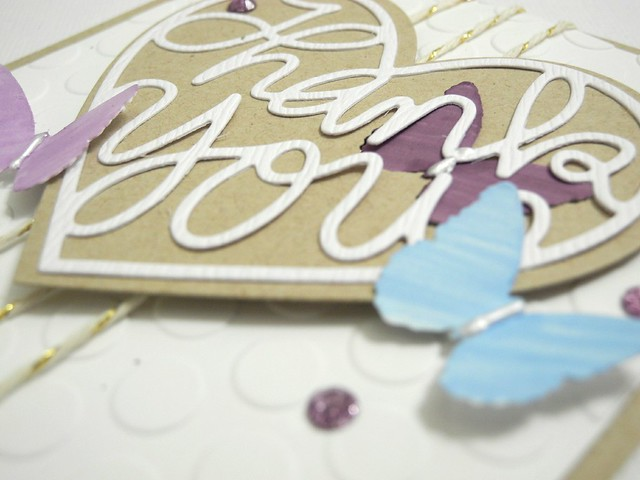 Butterfly Thank You (detail)