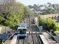 metropolitan area, funicular, vehicle, train, transport, rail transport, public transport, rolling stock, track,