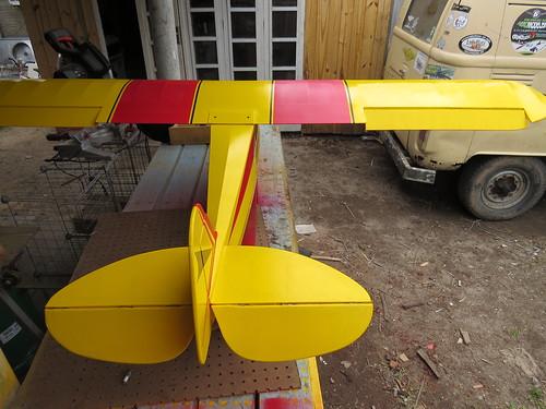 Repaginação de um Piper J-3 para um Neiva P56 C Paulistinha  9477205753_682b2105f4