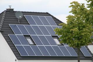 Photovoltaik-Dachanlage, Foto: Andreas Kühl