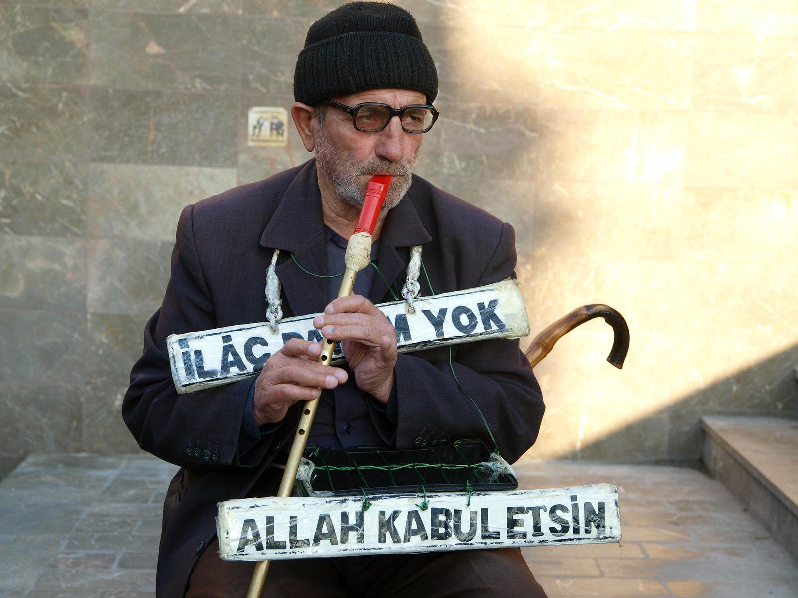 Portraits d'Istanbul - le joueur de flûte