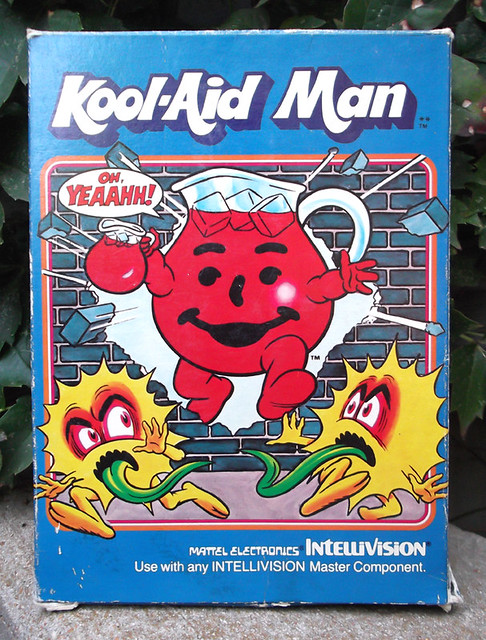 Old 1980's Kool-Aid Man Video Game