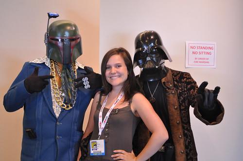SDCC 2013 : Boba Phat & Pirate Pimp Vader