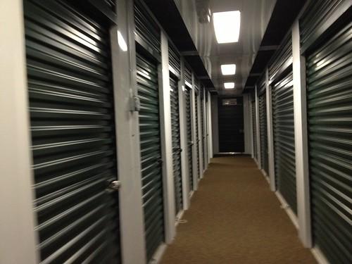 屋内の一番小さい倉庫