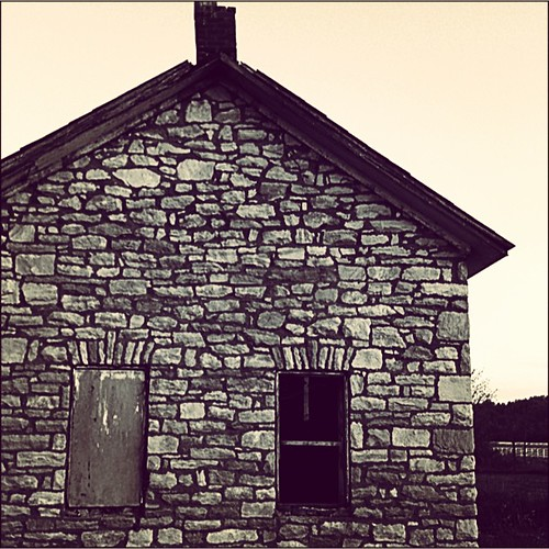 An old spring water house #farm #maryland