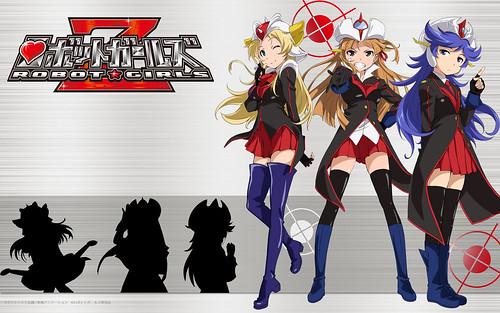 130830(3) – 動畫「無敵鐵金剛」40週年紀念作《ロボットガールズZ》(ROBOT GIRLS Z)發表第二批「機械獸美少女」聲優陣容!