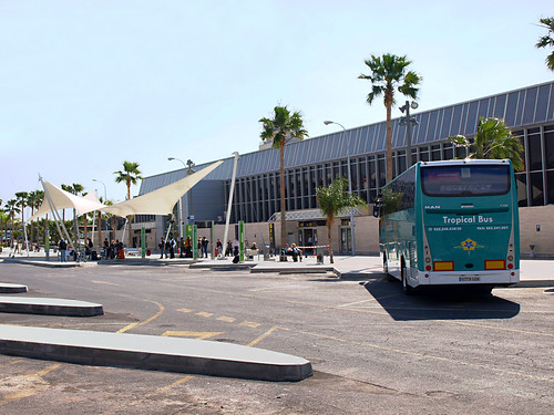 Bus Stop, Tenerife South Airport