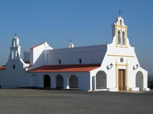 Huelva - El Almendro - Ermita de las Piedras Albas  37 30' 26.35 -7 16' 10.79