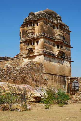 india rj bâtiment rajasthan forteresse ruines chittorgarh chittorgarhfort